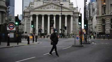 FOTO: Suasana Pagi Pertama Lockdown Nasional Ketiga di Inggris