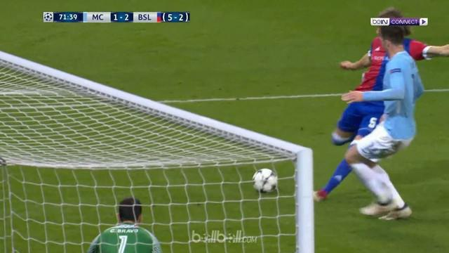 Berita video kekalahan Manchester City 1-2 dari Basel pada leg II 16 Besar Liga Champions 2017-2018. This video presented by BallBall.