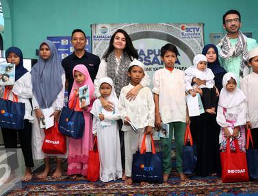 20160616- Michelle Ziudith Berbagi dengan Anak Yatim-Jakarta- Herman Zakharia