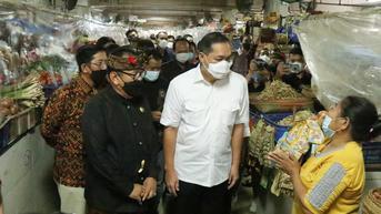 Pasar Badung Bali Jadi Percontohan Program PeduliLindungi