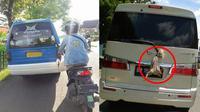 Kelakuan Nyeleneh saat Mengendarai Mobil (1cak)