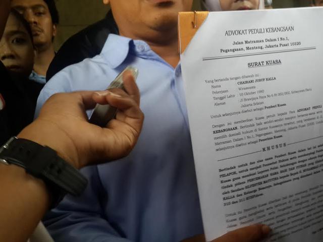 Putri Jk Beri Surat Kuasa Laporan Pencemaran Nama Baik Ke Polisi News Liputan6 Com