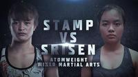 "Duel Stamp Fairtex vs Sunisa ""Thunderstorm"" Srisen akan mewarnai jalannya agenda ONE Championship bertajuk No Surrender di Bangkok, 31 Agustus 2020 (ONE Championship)"