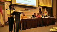 Musyawarah Nasional (Munas) XIII Persatuan Olahraga Berkuda Seluruh Indonesia (Pordasi) 2020 menetapkan Triwatty Marciano sebagai ketua 2020-2024. (Istimewa).