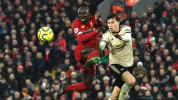 Di Musim ini, Sadio Mane tercatat sudah membuat 14 gol dan sembilan assist dari 26 penampilannya bersama Liverpool di Liga Inggris. (AFP/Paul Ellis)