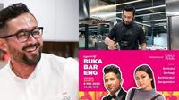 jadwal buka bareng Chef Norman Ismail. (Sumber; Instagram/chefnormanismail).