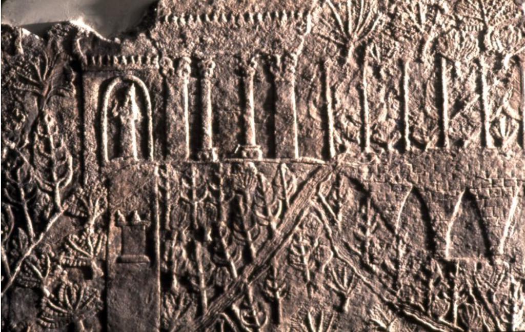 Ilustrasi Taman Gantung Babilonia (Wikipedia/Public Domain)
