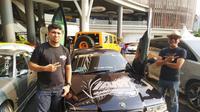 Komunitas otomotif, Team Venom turut meramaikan Haornas 2019 di Banjarmasin dengan mengikuti Hot Import Night Asia, ajang modifikasi sound system mobil (istimewa)