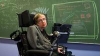 Ahli fisika dan kosmologi Stephen Hawking meninggal dunia di usianya yang ke-76 tahun. (Foto: Beyond Reality News)