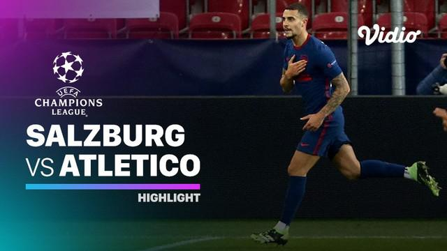 Berita video highlights matchday 6 Grup A Liga Champions 2020/2021 antara Salzburg melawan Atletico Madrid yang berakhir dengan skor 0-2, Kamis (10/12/2020) dinihari WIB.