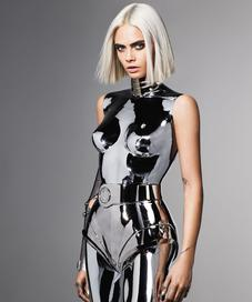Cara Delevinge in British GQ - Photo: GQ