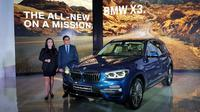 All new BMW X3 meluncur (Herdi/Liputan6.com)