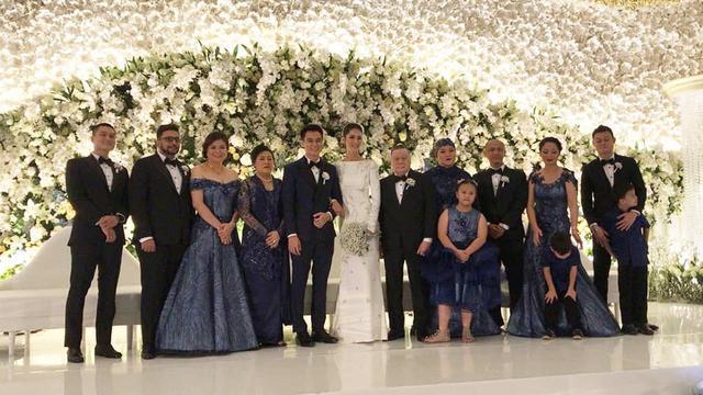Inspirasi Resepsi Pernikahan Bergaya Eropa Ala Baim Wong Dan