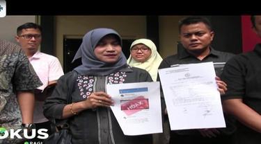 Akun pertama yang dilaporkan atas nama Muhamad Adrian yang menyebarkan berita bohong kertas suara telah tercoblos.