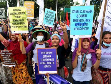 Demo Peringati Hari Tani NasionalDemo Peringati Hari Tani Nasional