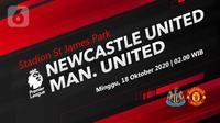 Newcastle United vs Manchester United (Liputan6.com/Abdillah)