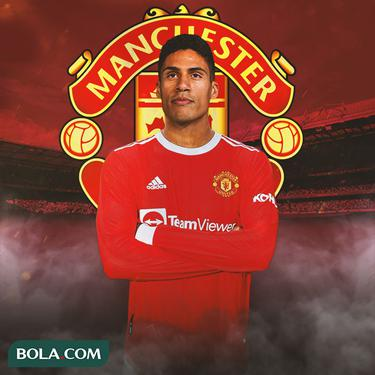 Manchester United - Ilustrasi Raphael Varane