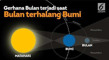 Gerhana bulan akan menghiasi langit Indonesia Senin (7/8) malam hingga Selasa (8/8) dini hari.