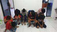 Delapan remaja mesum di Pinrang (Fauzan)