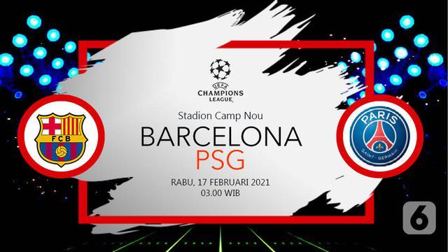 Prediksi Liga Champions Barcelona Vs Psg Kenangan Laga Spektakuler Di Camp Nou Bola Liputan6 Com