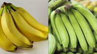 Pisang ambon kuning dan hijau bermanfaat bagi kesehatan.