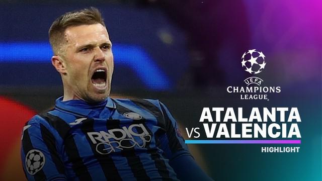 Berita video highlights leg I babak 16 Besar Liga Champions 2019-2020, Atalanta vs Valencia, yang berakhir dengan skor 4-1, Rabu (19/2/2020).