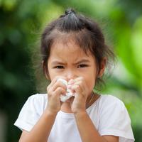 ilustrasi flu pada anak/copyright Shutterstock