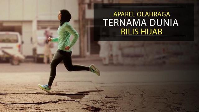 Video mengenai rencana produsen aparel olah raga ternama dunia merilis hijab khusus atlet atau penggiat olah raga.