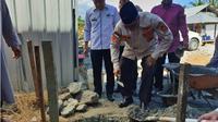 Dana pembangunan balai pengajian tersebut dihimpun dari PNS dan masyarakat Kabupaten Aceh Barat. Dana yang terkumpul sebanyak Rp 435 juta. (Liputan6.com/Rino Abonita)