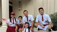 Keluarga Anang Hermansyah - Ashanty. (Instagram/ ananghijau)