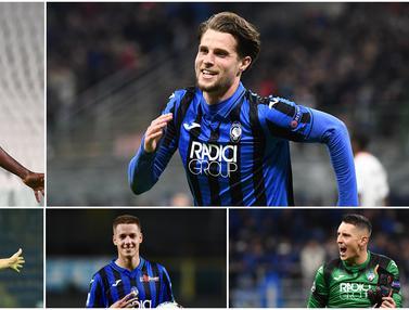 5 Pemain Berkelas Atalanta yang Layak Direkrut Klub Papan Atas Eropa