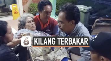 Sejumlah warga terluka setelah kilang minyak Pertamina Balongan di Indramayu terbakar hebat Senin (29/3) dini hari. Api membakar tangki minyak setelah terjadi ledakan besar.