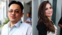 Nia Daniaty dan Farhat Abbas. Persoalan mantan pasutri ini masih belum selesai meski telah bercerai. Pada 10 Agustus 2015 Farhat mengajukan gugatan harta gono-gini terhadap Nia. (Andy Masela-Deki Prayoga/Bintang.com)