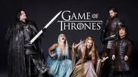 Para pemain Game of Thrones itu adalah Emilia Clarke, Kit Harington, Lena Headey, Nikolaj Coster-Waldau, serta Peter Dinklage.