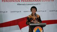 Seto Mulyadi atau akrab disapa Kak Seto mendorong orang tua untuk menjadi guru sesuai dengan tren kekinian selama COVID-19 di Graha BNPB, Jakarta, Sabtu (4/4/2020). (Dok Badan Nasional Penanggulangan Bencana/BNPB)