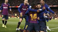 1. Barcelona - €1.1 Miliar (AFP/Pau Barrena)