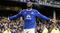 Striker Everton Romelu Lukaku. (AP Photo/Martin Rickett)
