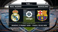 La Liga: Real Madrid Vs Barcelona (Bola.com/Adreanus Titus)