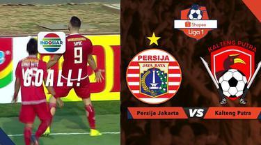Berita video momen gol indah striker Persija Jakarta, Marko Simic, dari tendangan bebas saat menghadapi Kalteng Putra dalam lanjutan Shopee Liga 1 2019, Selasa (20/8/2019).
