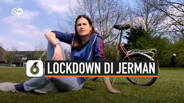lokckdown di Jerman