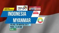 SEA Games 2017 Indonesia Vs Myanmar_4 (Bola.com/Adreanus Titus)