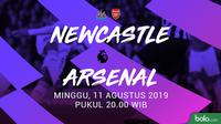Premier League - Newcastle United Vs Arsenal (Bola.com/Adreanus Titus)