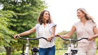 Ilustrasi naik sepeda (iStockphoto)