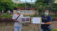 Wanda Ponika, Cathy Sharon, Maia Estianty, dan Nathania Zhong galang donasi untuk pengadaan Alat Pelindung Diri (APD) di NTT. (dok. Happy Hearts Indonesia)