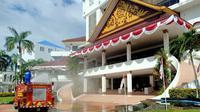Wali Kota Batam, Kepulauan Riau, Muhammad Rudi menerbitkan Peraturan Wali Kota tentang Penerapan Disiplin dan Penegakan hukum Protokol Kesehatan demi mencegah dan mengendalikan pandemi COVID-19. (Foto: Liputan6.com/Ajang Nurdin)