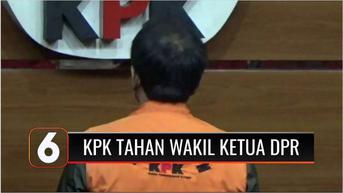 VIDEO: Jadi Tersangka Kasus Suap pada Mantan Penyidik KPK, Wakil Ketua DPR Azis Syamsuddin Ditahan