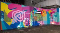Mural di M Bloc Space, Jakarta. (dok. SIngapore Tourism Board)