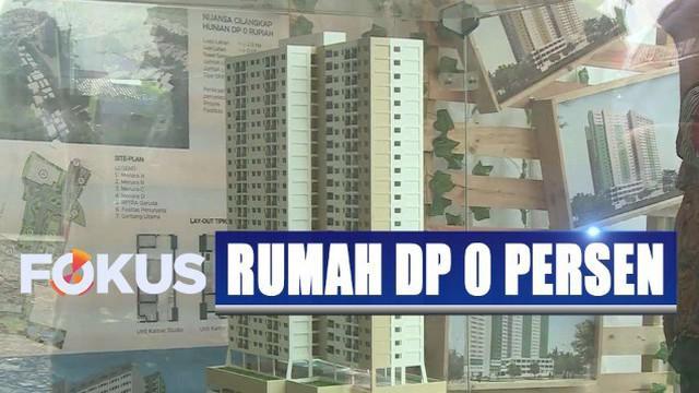 Program rumah DP 0 persen ini akan sangat membantu bagi warga yang tak mampu membeli rumah dengan pola konvensional.