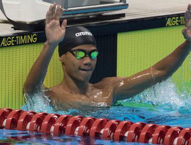 Jendi Pangabean Sumbang Emas dari Renang Asian Para Games