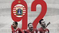Ulang tahun Persija Jakarta ke-92. (Bola.com/Dody Iryawan)